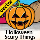 Halloween Scary Things - GraphicRiver Item for Sale