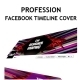 Profession Facebook timeline cover - GraphicRiver Item for Sale