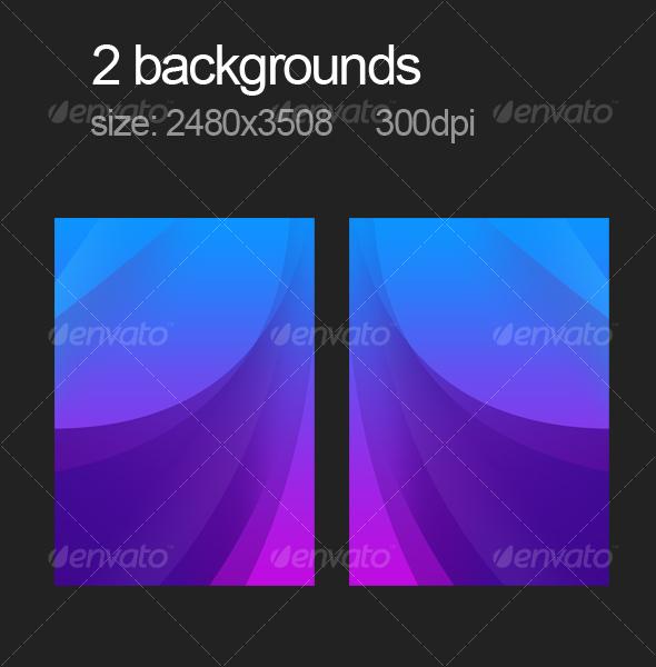 GraphicRiver 2 purple backgrounds 112282
