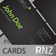Black Business cards 2 - GraphicRiver Item for Sale