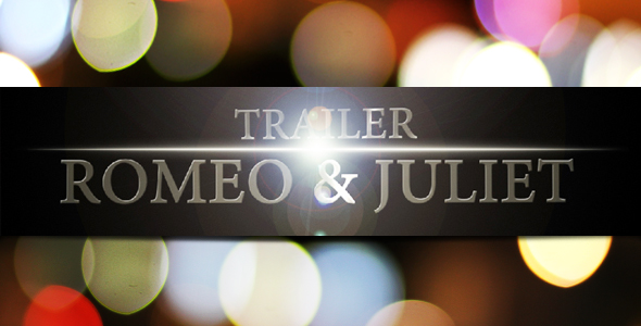 After Effects Project - VideoHive R&J Trailer 114271