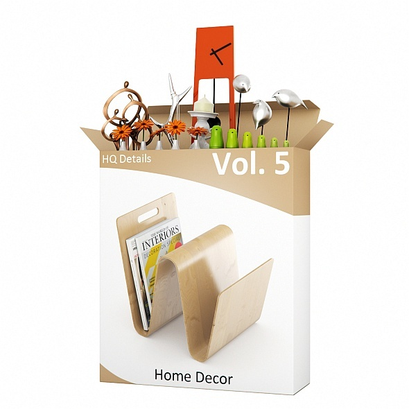 3DOcean HQ Details Vol.5 Home Decor 335574