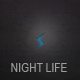 Night Life Bootstrap Responsive Dark Template - ThemeForest Item for Sale