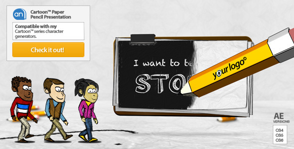 After Effects Project - VideoHive Cartoon Paper Pencil Presentation 3249175