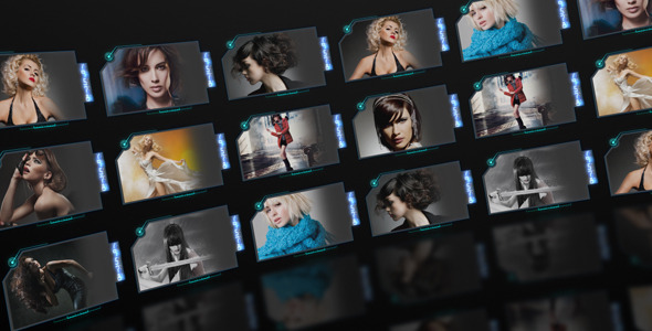 After Effects Project - VideoHive Circle Screens 3249921