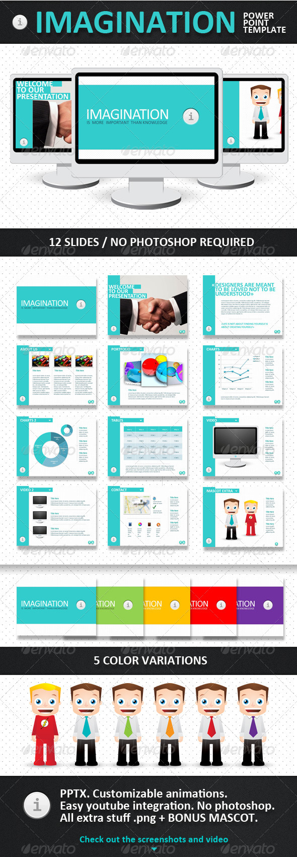 GraphicRiver Imagination PowerPoint Template 336504