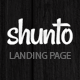 Shunto - Responsive Bootstrap Landing Page - ThemeForest Item for Sale