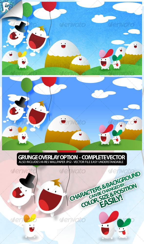 GraphicRiver Cartoon Set 111960