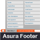 Asura jQuery Footer - CodeCanyon Item for Sale