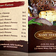 TriFold Restaurant Brochure Template - GraphicRiver Item for Sale