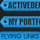 XML Flying Cloud Links / Tags - ActiveDen Item for Sale
