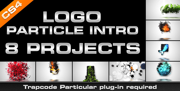 After Effects Project - VideoHive Logo Particle Intro 8in1 3254938