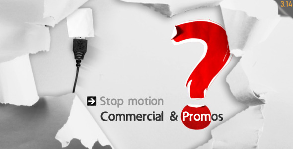 After Effects Project - VideoHive Stop Motion Commercial & Promos 3257115