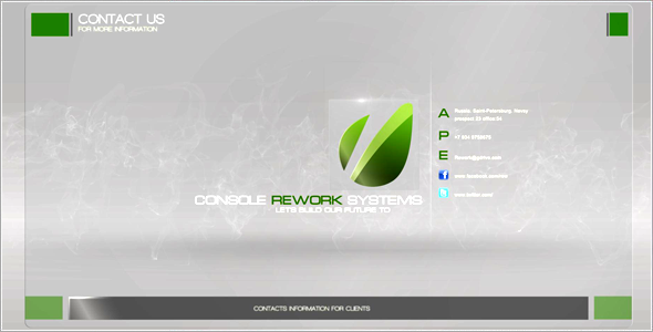 After Effects Project - VideoHive Rework Corporate Presentation 3257146
