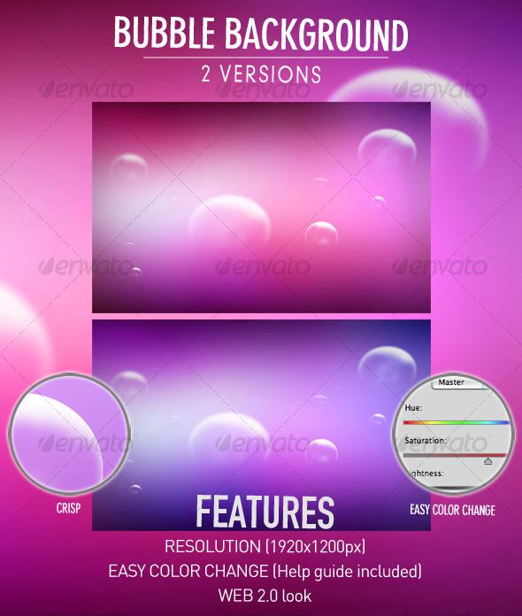 GraphicRiver Bubble background 112133