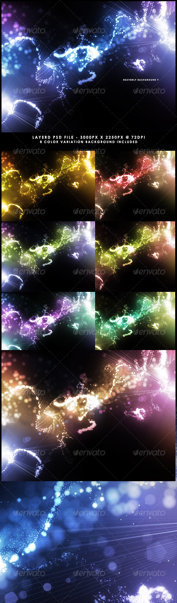 GraphicRiver Heavenly Background 9 114700