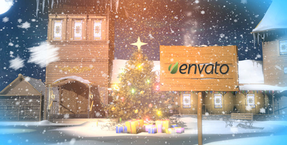 After Effects Project - VideoHive Christmas magic logo 3218820