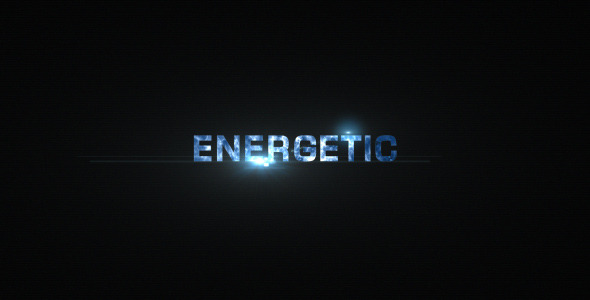After Effects Project - VideoHive Energetic Titles 3263747