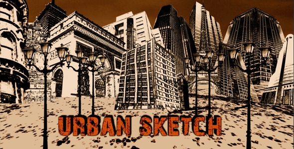 After Effects Project - VideoHive Urban Sketch 115033