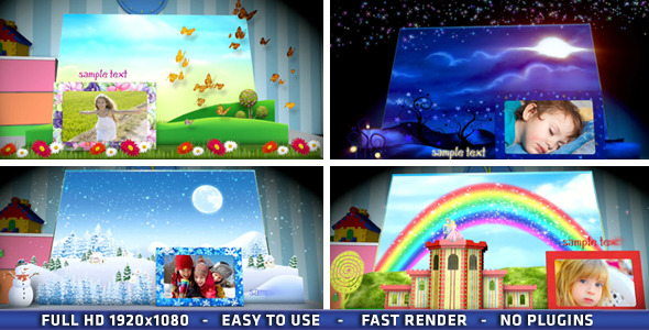 After Effects Project - VideoHive Magic Popup Book 3266747