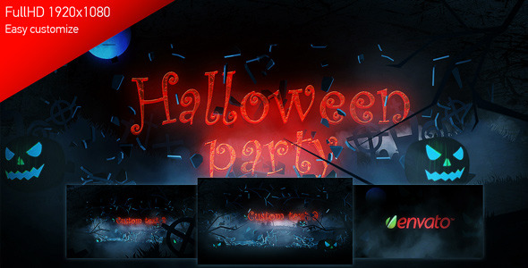 After Effects Project - VideoHive Halloween Party 3267249