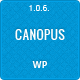 Canopus - Responsive HTML5 WordPress Template - ThemeForest Item for Sale
