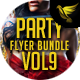 Party Flyer Bundle Vol9 - 4 in 1 - GraphicRiver Item for Sale