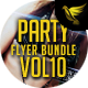 Party Flyer Bundle Vol10 - 4 in 1 - GraphicRiver Item for Sale