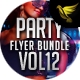 Party Flyer Bundle Vol12 - 4 in 1 - GraphicRiver Item for Sale
