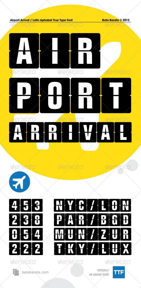 GraphicRiver Airport Arrival 2802161