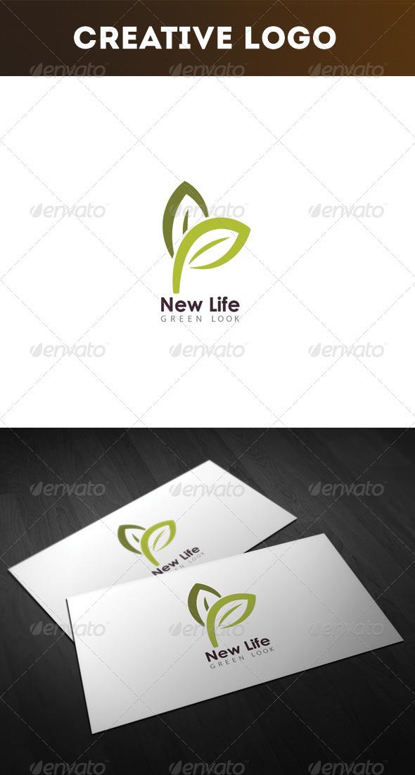GraphicRiver New Life Logo 3269349
