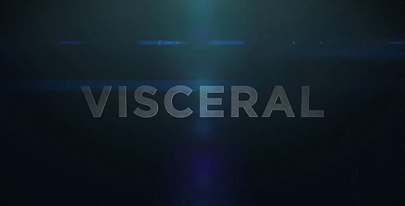 After Effects Project - VideoHive  VISCERAL 115316
