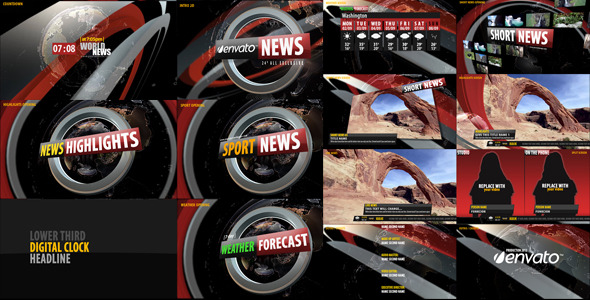 After Effects Project - VideoHive News Broadcast Design 3240015