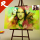 Photo On Canvas - GraphicRiver Item for Sale