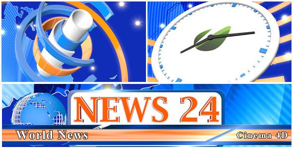 VideoHive World News 3234197