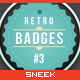 Retro Vintage Badges #3 - GraphicRiver Item for Sale