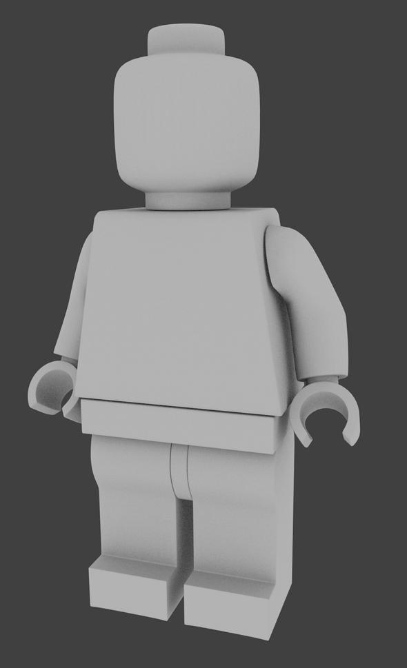 3DOcean Lego Minifigure 340733