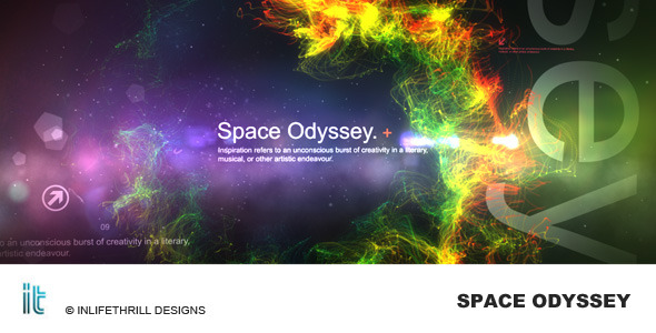 After Effects Project - VideoHive Space Odyssey 340736