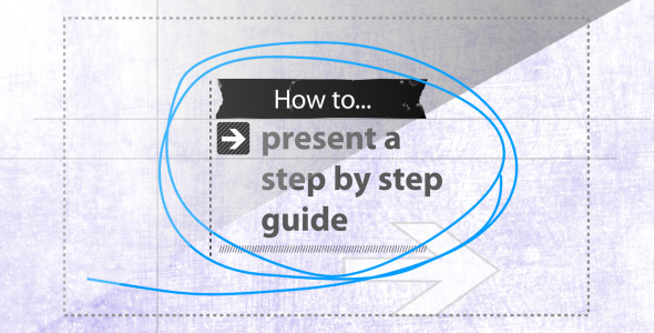 After Effects Project - VideoHive How To Step by Step Guide AE template 340814