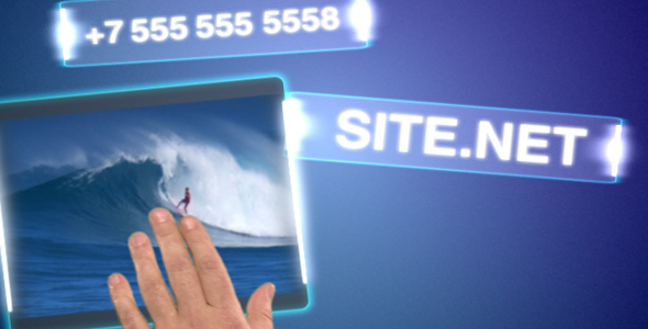 After Effects Project - VideoHive Touch table 114724