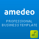 Amedeo Professional Business Template, 5 in 1 - ThemeForest Item for Sale