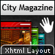 City Magazine - An Ultimate & Attractive Xhtml - ThemeForest Item for Sale