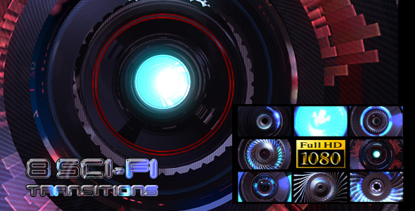 VideoHive High Tech Zoom Transitions 8-Pack 3279218