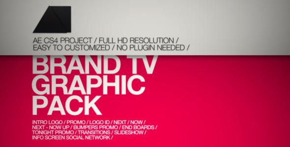 VideoHive Brand TV Graphic Pack 3282352