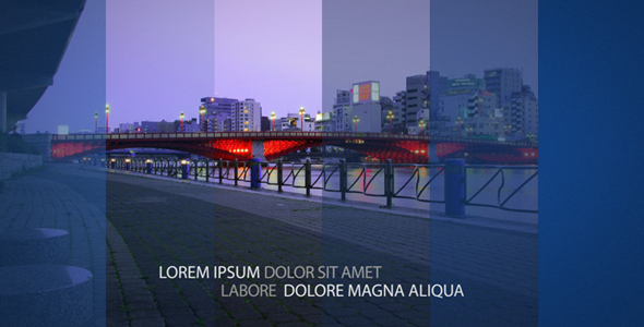 After Effects Project - VideoHive Deco Stripes 115810
