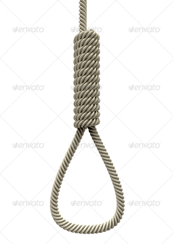 Hangmans Noose Rope - Stock Photo | PhotoDune