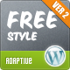 Freestyle Responsive Wordpress Theme - ThemeForest Item for Sale