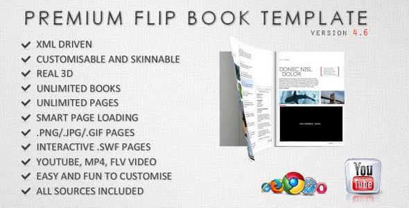 Interactive Page Flip Magazine - ActiveDen Item for Sale