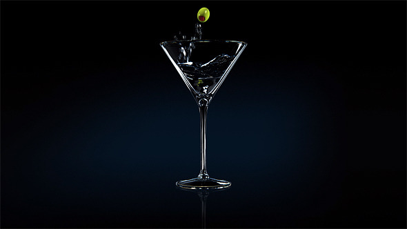VideoHive Vodka Martini 3D 3286148