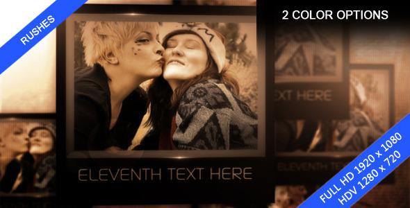 VideoHive Personal Memories Image video Presentation 3286184